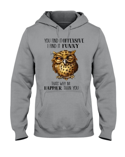 Owl You Find It Offensive I Find It Funny