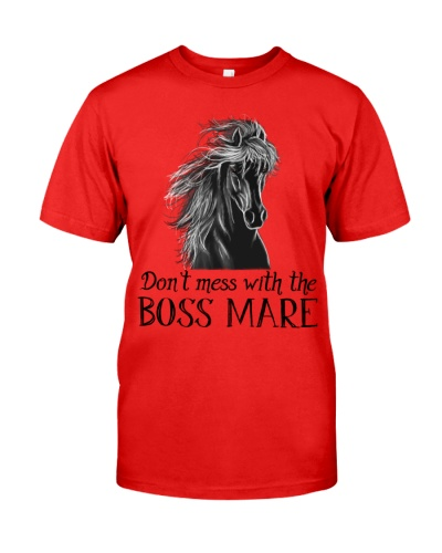 Horse Don't mess with the boss mare