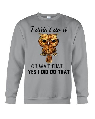 Owl I Didn't Do It