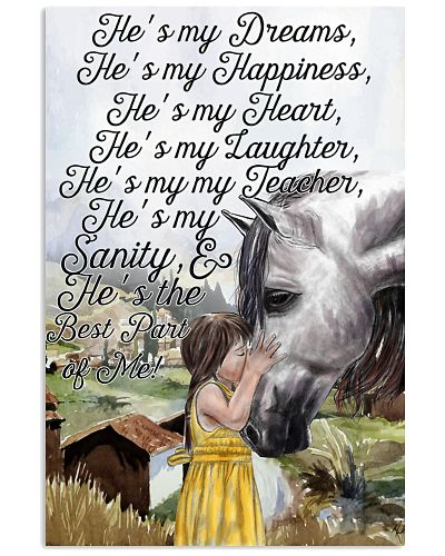 Horse He's My Dream He's My Happiness