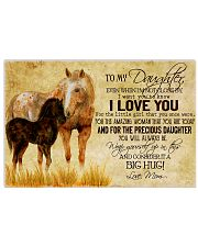 Horse To Daughter 24x16 Poster front