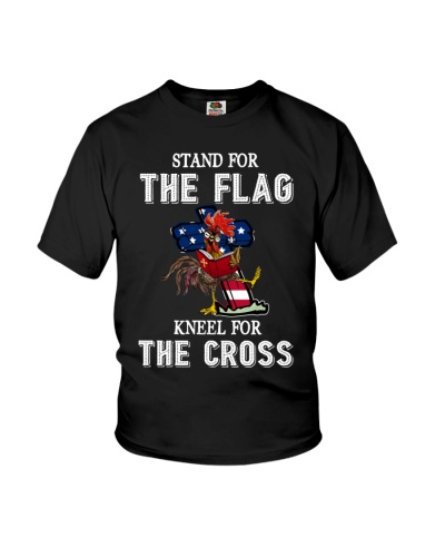Chicken Stand For The Flag