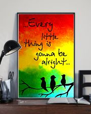Hippie Every Little Thing Is Gonna Be Alright  16x24 Poster lifestyle-poster-2