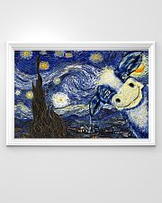 Cow Face Beautiful Artwork 36x24 Poster poster-landscape-36x24-lifestyle-02
