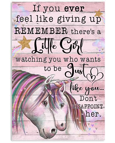 Unicorn If You Ever Feel Like Giving Up