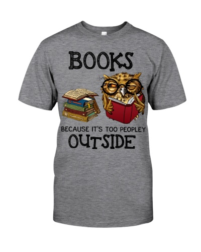 Owl Books because it's too peopley outside