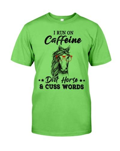 Horse I run on caffein