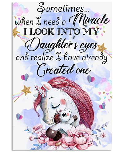 Baby Sometimes When I Need A Miracle My Daughter's