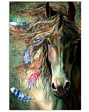 Horse Water Art 16x24 Poster front