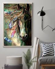 Horse Water Art 16x24 Poster lifestyle-poster-1