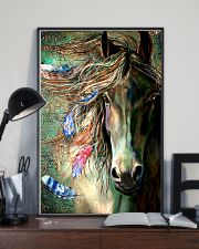 Horse Water Art 16x24 Poster lifestyle-poster-2