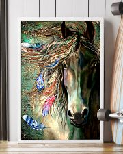 Horse Water Art 16x24 Poster lifestyle-poster-4
