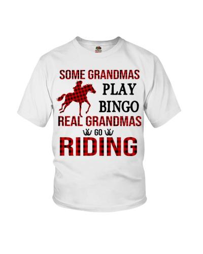Horse Some Grandmas play bingo