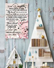 Unicorn To My Daughter Once Upon A Time  16x24 Poster lifestyle-holiday-poster-2