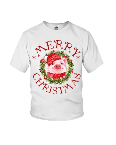 Pig Merry Christmas