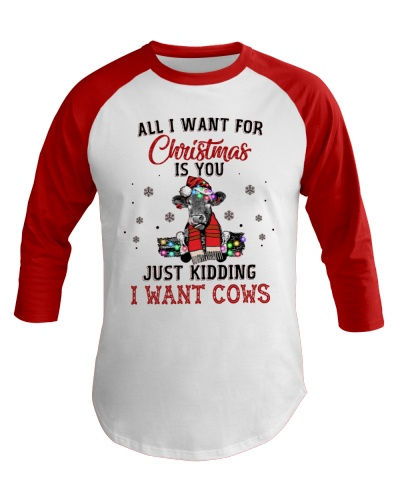 Cow All I Want For Christmas is You