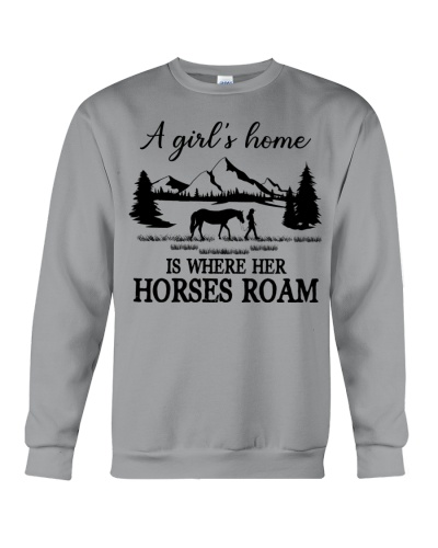 Horse A Girl's Home Is Where Her Horses