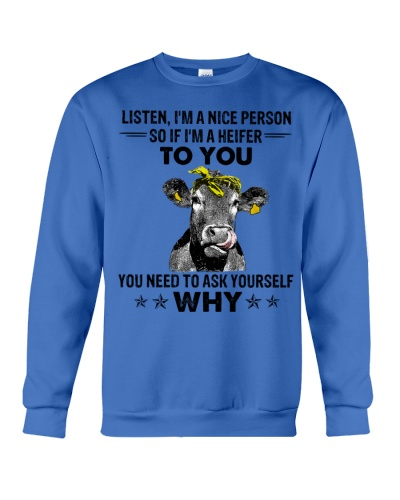 Cow Listen I'm A Nice Person