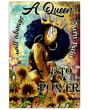 Afro A Queen will always turn pain into power 16x24 Poster front