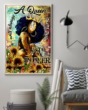 Afro A Queen will always turn pain into power 16x24 Poster lifestyle-poster-1