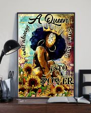 Afro A Queen will always turn pain into power 16x24 Poster lifestyle-poster-2
