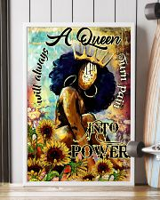 Afro A Queen will always turn pain into power 16x24 Poster lifestyle-poster-4