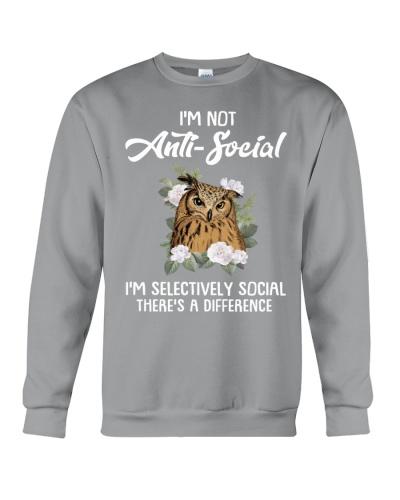 Owl I'm Not Anti Social