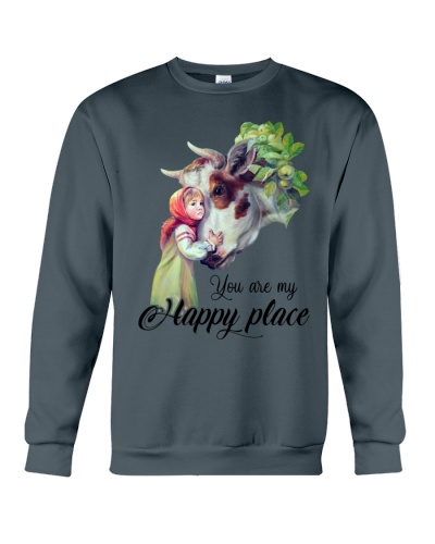 Cow You Are My Happy Placce