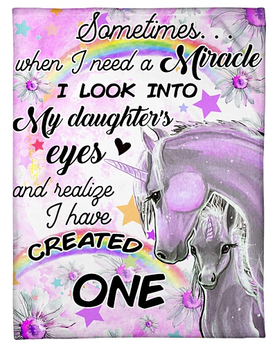 Baby Unicorn You Somtimes mircale into my daughter