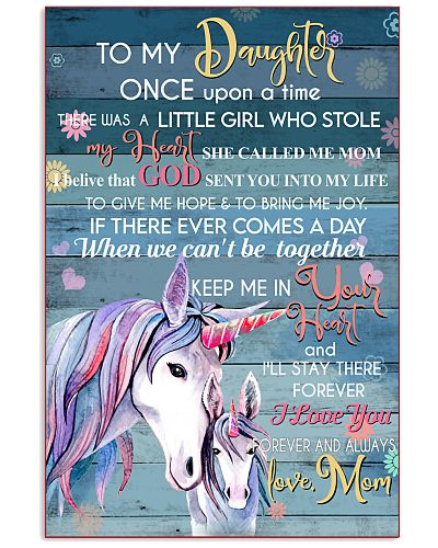 Unicorn To My Daughter Once Upon A Time