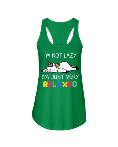 Unicorn I'm not lazy I'm just very relaxed