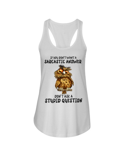 Owl If You Don't Want a Sarcastic answer