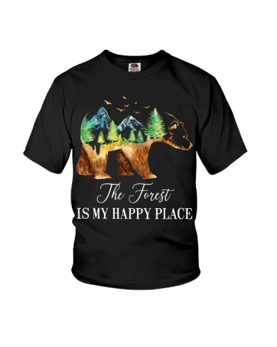 Bear The Forest Is My Happy Place