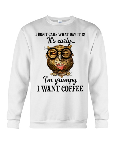 Owl I Don't Care What Day It Is It's Early