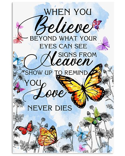 Butterfly When You Believe Beyond