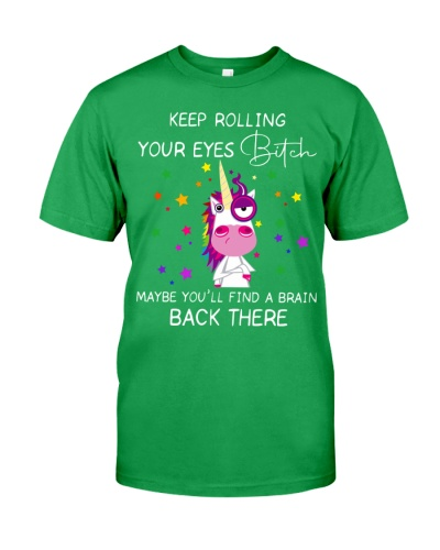 Unicorn Keep Rolling Your Eyes
