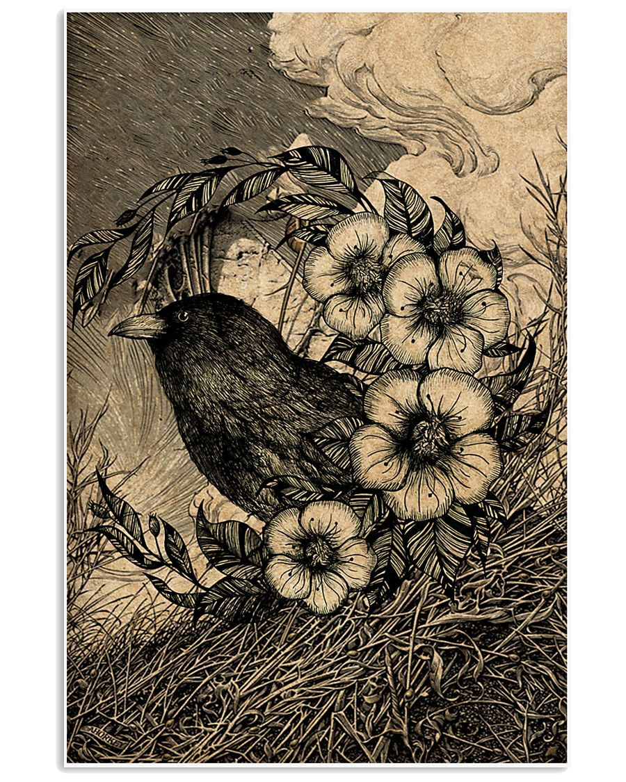 Raven Tree 16x24 Poster