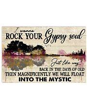 Hippie Guitar 24x16 Poster front
