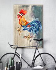 Chicken After God Made Me He Said 24x36 Poster lifestyle-poster-7