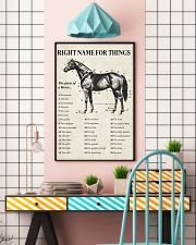 Horse Right Name For Things  16x24 Poster lifestyle-poster-6