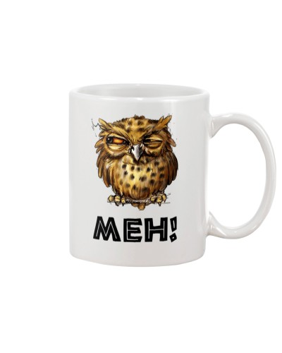 Owl MEH Funny