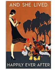 Chicken And She Lived Happily Ever After 16x24 Poster front