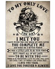 Skull To My Only Love  16x24 Poster front