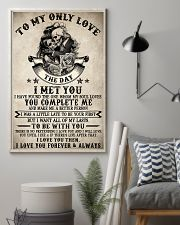 Skull To My Only Love  16x24 Poster lifestyle-poster-1