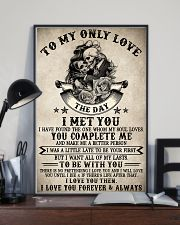 Skull To My Only Love  16x24 Poster lifestyle-poster-2