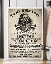 Skull To My Only Love  16x24 Poster lifestyle-poster-4