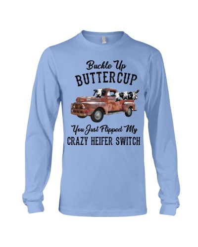 Cow Buckle Up Buttercup