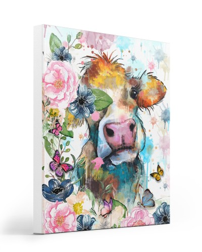 Cow Face Flower