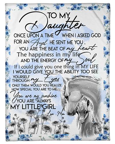 Baby Unicorn You are braver  Nursery Blanket