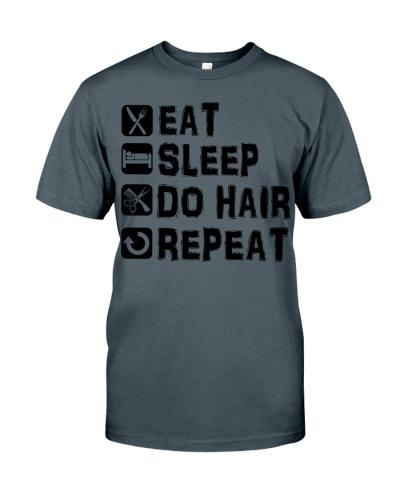 Hair Stylist Eat Sleep